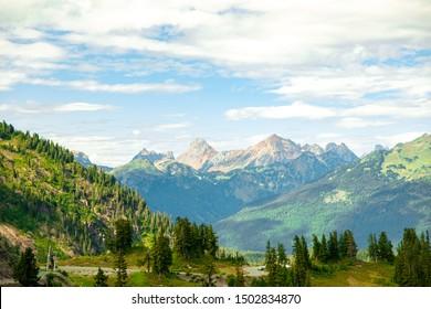 Gorgeous landscape Mountains on Mount Baker, Washington!