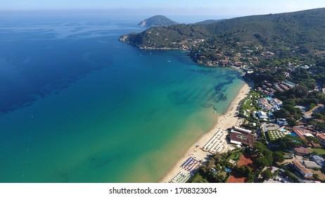 Gorgeous sea view at the coast of Elba