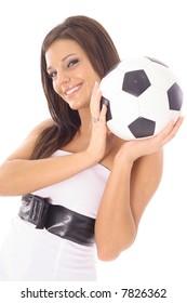 gorgeous soccer girl