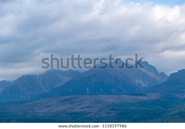 Gorgeous Tatra mountains in late September