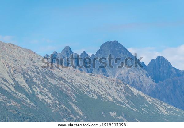 Gorgeous Tatra mountains in late September
