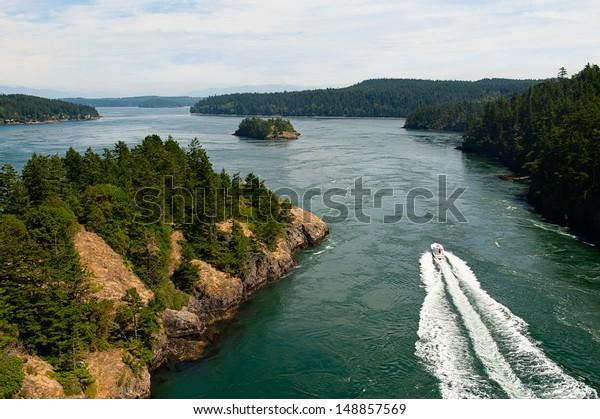 The gorgeous Whidbey Island in Washington, USA