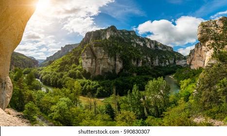 Gorges Du Tarn, Aveyron, France.