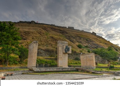 Gori Fortress (Goris Tsikhe), a medieval citadel in Georgia, standing above the city of Gori on a rocky hill.