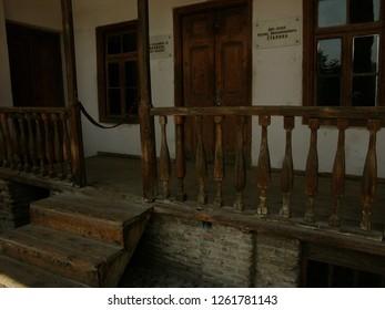 Gori, Georgia / Georgia - April 2016: Interior of Stalin's house