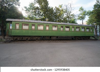Gori, Georgia - circa september 2018: The train wagon of Stalin, Stalin Museum in Gori, Shida Kartli, Georgia. Gori is birth town of Joseph Stalin