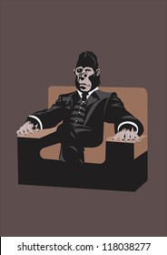 gorilla, ape father