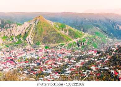 Goris town Syunik Region, Armenia. View from the hill