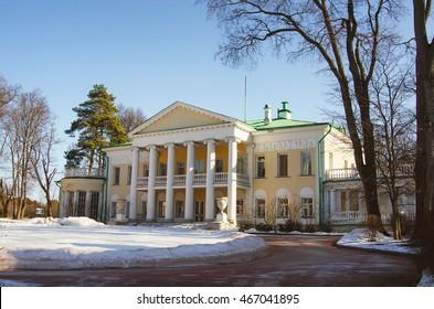 Gorki Estate where Soviet leader Vladimir Lenin dead in 1924 near Moscow, Russia.