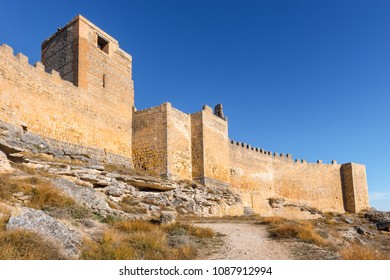 Gormaz Castle un Soria Province, Castile and Leon, Spain