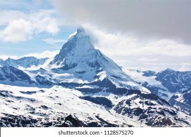 Gornergrat Matterhorn Zermatt Switzerland