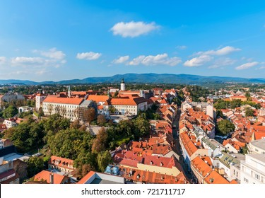 Gornji Grad district (Upper Town) In Zagreb, Croatia