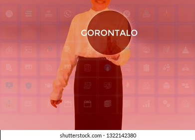 GORONTALO - technology and business concept