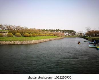 Goryokaku park, Hakodate, Hokkaido, Japan