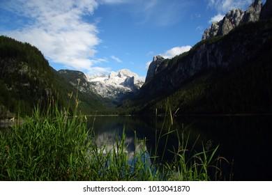 Gosau lake under the Dachstein