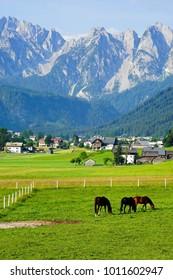Gosau village in Austria