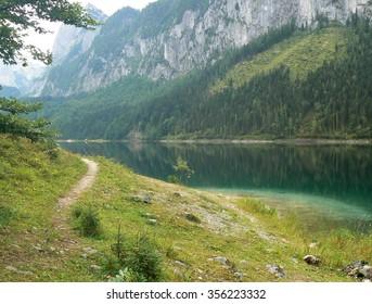 Gosausee - lake in Austria