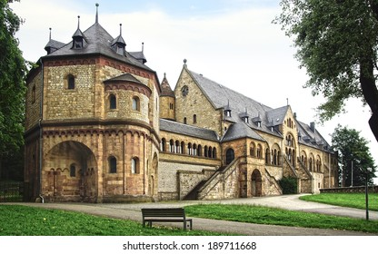 GOSLAR - JULY 28, 2012: Imperial Palace (Kaiserpfalz). The imperial palace is the largest, oldest and altogether best preserved 11th century building in Germany.