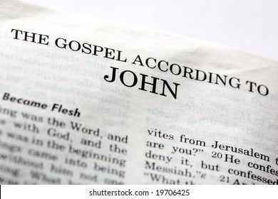 The Gospel According to John in the Christian New Testament Bible