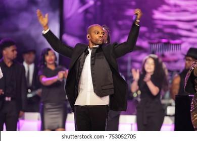 Gospel artist Kirk Franklin 2017 Soul Train Awards in Las Vegas, Nevada on November 5th  2017 at the Orleans Arena
