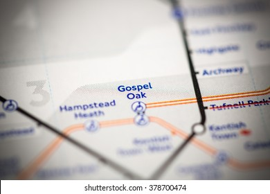 Gospel Oak Station. London Overground. London. UK.