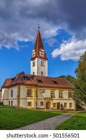 Goss Abbey is a former Benedictine nunnery in Leoben, Styria, Austria.