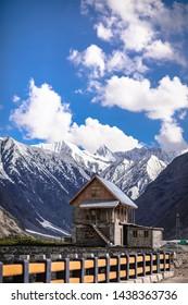 I got this amazing view & House from Srinagar. Jammu & Kashmir.