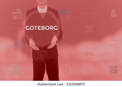 GOTEBORG - technology and business concept