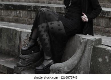 Goth alternative girl