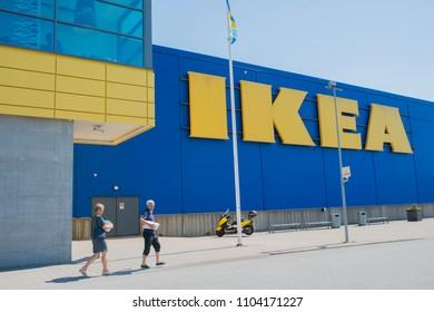 Gothenburg - Sweden. Circa June, 2018: IKEA is a popular store in Gothenburg.