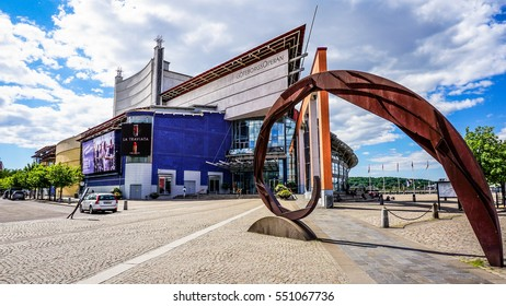 GOTHENBURG, SWEDEN - June 13, 2016: Gothenburg Opera House in the second largest city in Sweden