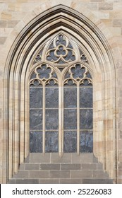 Gothic arch on the Prague castle