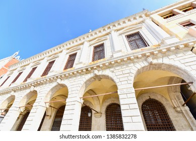 Gothic Architecture of Doge's Palace in Venice, Italy