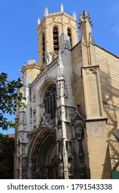 The gothic cathedral of Aix-en-Provence, France