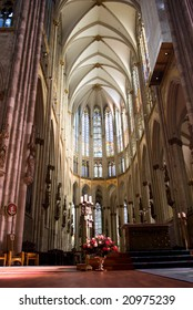 Gothic cathedral in Cologne, Germany