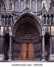 Gothic Cathedral door
