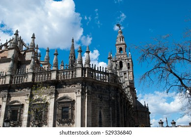 the gothic cathedral of Seville