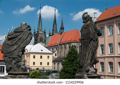 Gothic church in town
