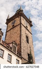 Gothic clock tower