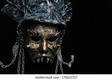 Gothic decorative mask