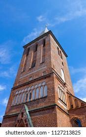 Gothic Lutheran St. John's Church in Tartu, Estonia