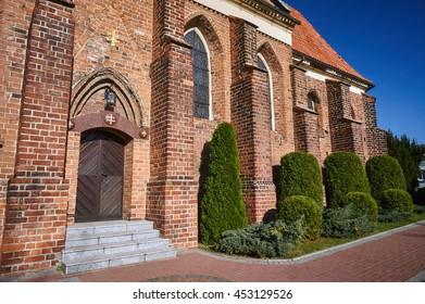 Gothic monastery church in Gniezno