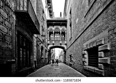 Gothic Quarter Barcelona Spain
