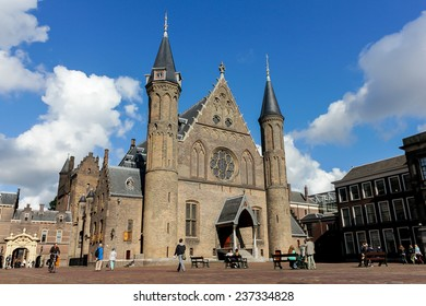 The gothic Ridderzaal, a great hall of The Hague, The Netherlands