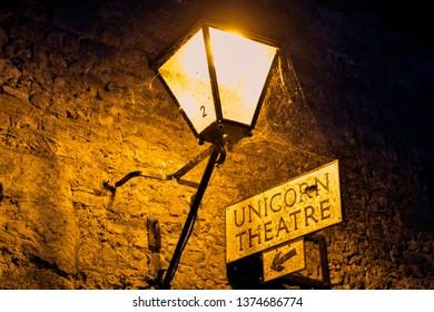 Gothic sigh for unicorn theatre