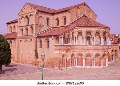 Gothic style church in Murano Venice, Italy