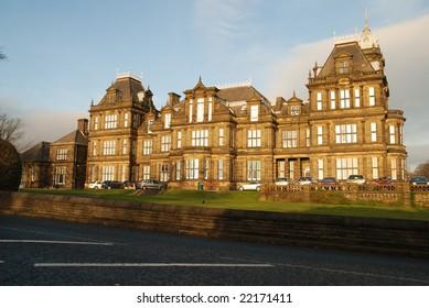 Gothic style Victorian school.