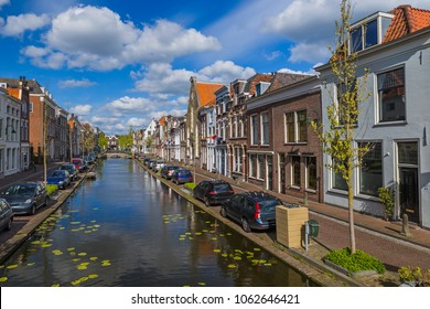 Gouda cityscape - Netherlands - architecture background