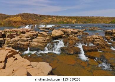 Gounia falls waterfall Mali