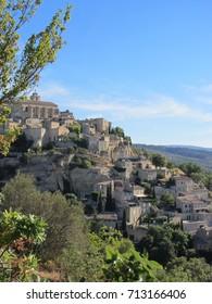 Gourdon village in France